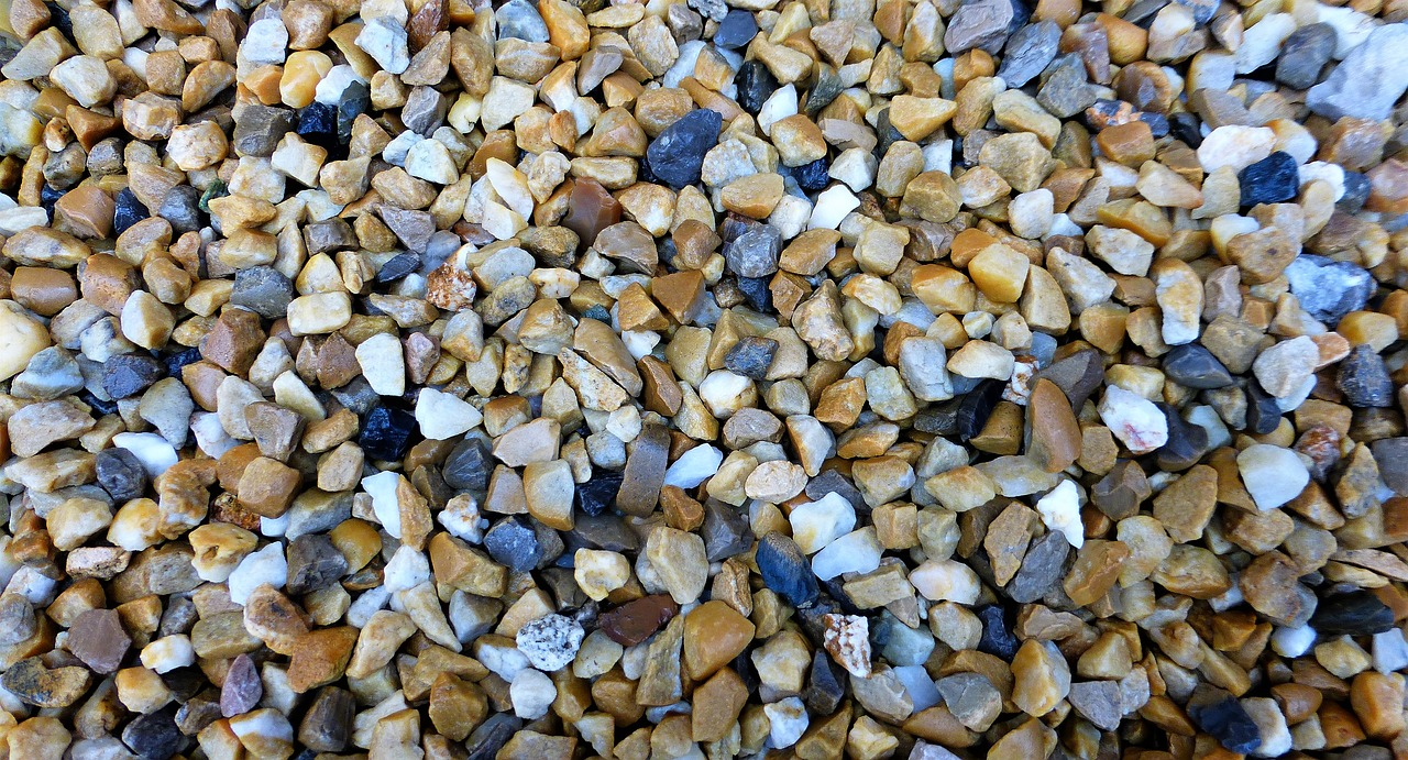 Riverstone pebbles
